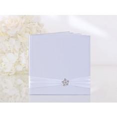 Livre d'or mariage boucle perle