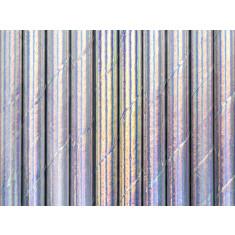 10 pailles papier Iridescent