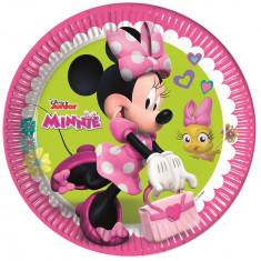8 Assiettes Minnie avec poussin
