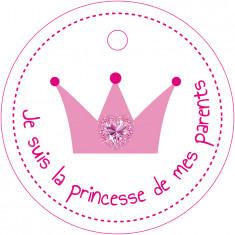 Nominettes Couronne Princesse  x25