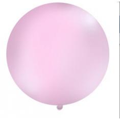 Ballon géant rose 1 m