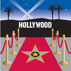 16 serviettes Hollywood