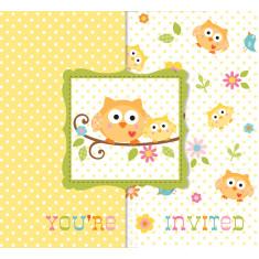 Invitation baby-shower  x8