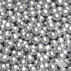 Dragées perles - argent - 100gr