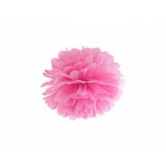 Pompon rose - 25 cm