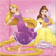 20 Serviettes Princesses Disney - 33 x 33 cm