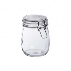 Bonbonnière en verre 0.75L- Fermeture metallique