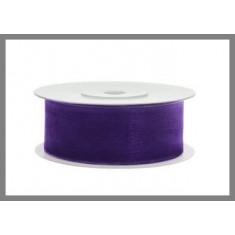 Ruban organdi 25 mm - Plusieurs couleurs disponibles