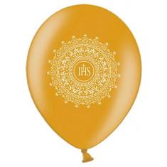 6 Ballons communion or