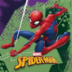 20 Serviettes Spiderman - 33 cm x 33 cm