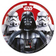 8 Assiettes Star Wars Dark Vador - 23 cm