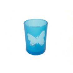 Photophore turquoise papillon
