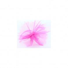Ronds tulle festonné - rose - x25