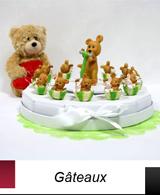 Osez les gâteaux pour offrir à vos convives vos dragées de baptême ou mariage