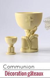 Adoptez ces décorations de gâteaux de communion et surprenez vos convives