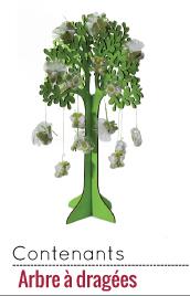 arbre à dragées déco pas chère