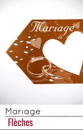 Un fléchage cohérent et original pour un mariage réussi