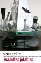 vaisselle jetable vaisselle jetable pas cher pour mariage bapteme noel. Black Bedroom Furniture Sets. Home Design Ideas