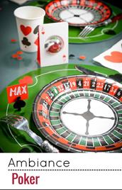 Fans de poker, cette déco est pour vous !