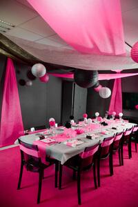 décoration glamour thème mariage