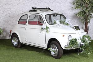 décoration fleur pour voiture de la mariée