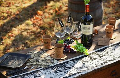 deco mariage theme vigne