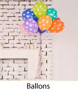 ballons de bapteme