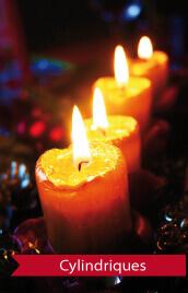 bougies pas cher idéales pour une déco halloween