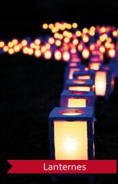 lanternes idéales pour un mariage