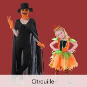 costume citrouille