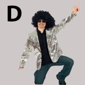costume lettre D