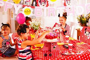 table anniversaire Disney