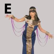 costume lettre E