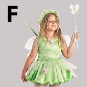 costume lettre F