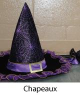 chapeaux halloween pas chers