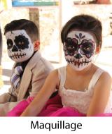 maquillage halloween pas cher