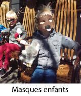 masques halloween enfants pas cher