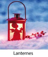 lanternes et photophores de noel