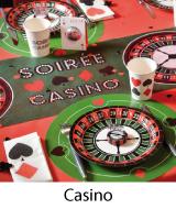 déco fête thème casino
