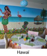 déco fête thème hawai