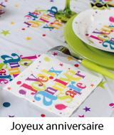 décoration joyeux anniversaire