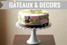 gâteaux anniversaire et décoration pour gâteau anniversaire