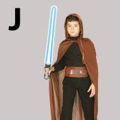 costume lettre J