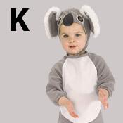 costume lettre K