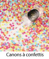 canons à confettis mariage