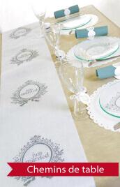 chemin de table mariage pas cher