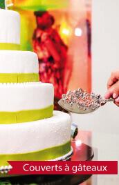 couverts de gateau mariage