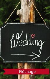 signalétique mariage