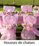 housses de chaises mariage