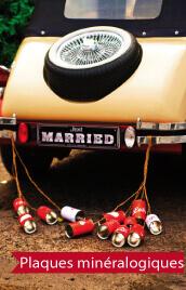 plaques voitures mariage